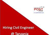 Civil Engineer at Tanzania, vipul mali, post a resume, jobs in africa, jobs in ahmedabad, recruitement for tanzania, civil engineer jobs