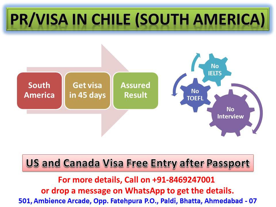 Chile Calling, CHille PR, Chille Visa, Work in Chile, settle in chille, usa visa