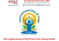 International Day of Yoga by Post A Resume HR Recruitment Job Placement Consultancy based at Ahmedabad Gujarat India