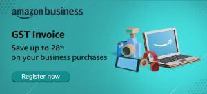 try Amazon business and get gst invoice benefit