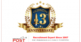 celebrating 13th anniversary of post a resume